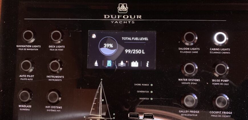 Dufour 460GL – 4cab – Vanilla Sky