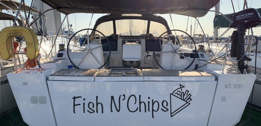 Dufour 460GL – 5cab – Fish N' Chips