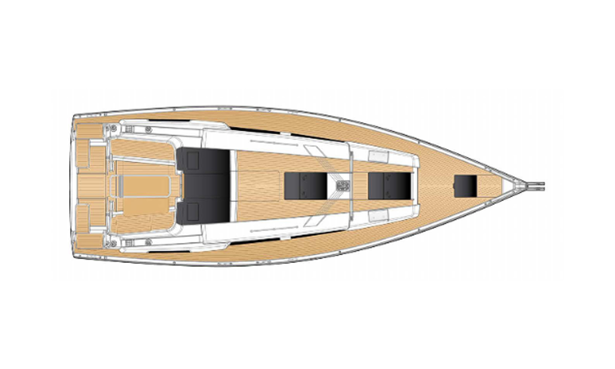 Hanse 418 – 3cab – Piranha