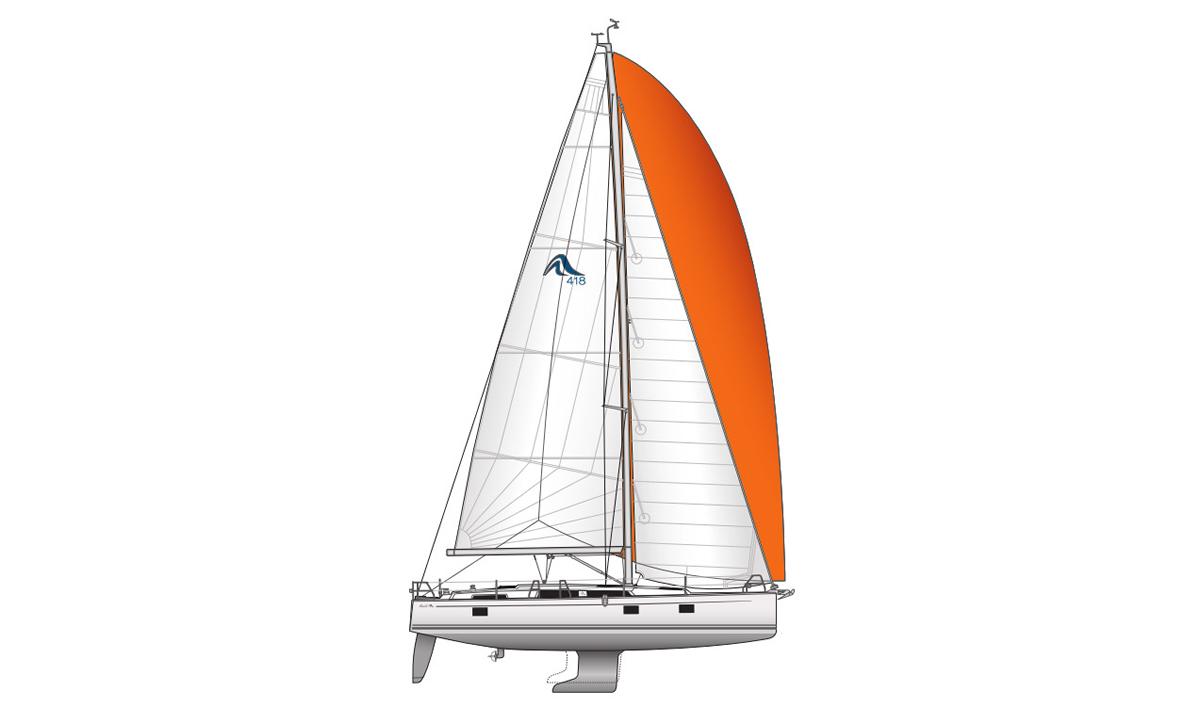 Hanse 418 – 3cab – Dafne